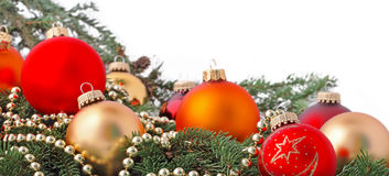Buntes Weihnachten Stockfotografie