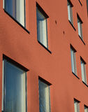 Buntes Wohngebäude Lizenzfreies Stockfoto