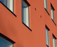 Buntes Wohngebäude in Europa Lizenzfreies Stockfoto