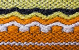 Buntes woolen Stockfotografie