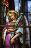 Buntglas - Allegorie auf dem Leiden von Jesus Lizenzfreies Stockbild
