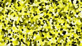 Buntglas buntes voronoi, Zusammenfassung des Vektors ENV Unregelmäßiges Zellhintergrundmuster 2D geometrische Formgitterbeschaffe lizenzfreies stockbild