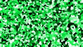 Buntglas buntes voronoi, Zusammenfassung des Vektors ENV Unregelmäßiges Zellhintergrundmuster 2D geometrische Formgitterbeschaffe stockfotografie