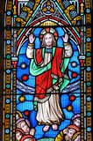 Buntglas Christ lizenzfreie stockfotos