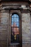 Buntglas der Kirche Stockfotografie