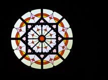 Buntglas-Fenster Lizenzfreie Stockfotografie