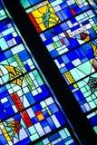 Buntglas-Fenster 6 Stockfotografie
