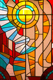 Buntglas-Fenster Lizenzfreies Stockfoto