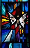Buntglas-Fenster-Basisrecheneinheit Stockfotos