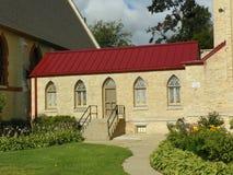 Buntglas-Fenster Hall Stockfoto