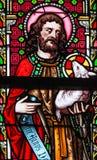 Buntglas - Johannes der Baptist Lizenzfreie Stockfotos