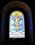 Buntglas-Kirche-Fenster Lizenzfreies Stockfoto