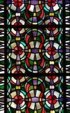 Buntglas-Muster Stockbild
