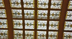 Buntglas-Oberlicht Lizenzfreie Stockbilder