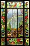 Buntglasfenster Lizenzfreie Stockfotos