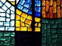 Buntglasfenster Stockfotos