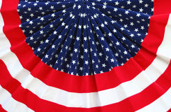 bunting патриотический Стоковое Изображение