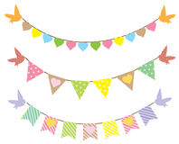 bunting Fotos de Stock