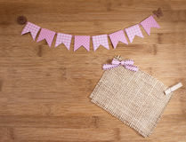 Bunting banners Royalty-vrije Stock Foto