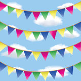 Bunting flag Royalty Free Stock Images