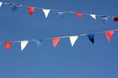 Bunting flags Stock Image