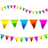 Bunting flags Stock Images