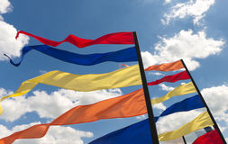 Bunting flags Royalty Free Stock Image