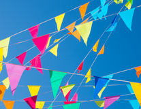 Bunting flags Royalty Free Stock Photography