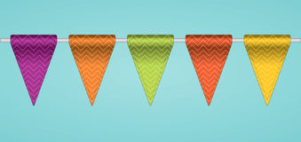 Bunting flags. Royalty Free Illustration