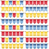 Bunting pack Royalty Free Stock Image