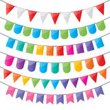 Bunting and party flags Stock Photography