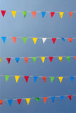 Bunting V Royalty Free Stock Photos