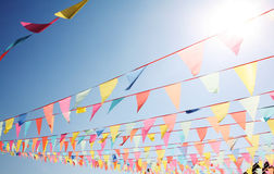 Bunting V Royalty Free Stock Image