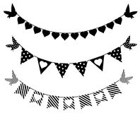 Bunting Royalty Free Stock Photography