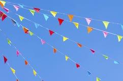 Bunting vlaggen Royalty-vrije Stock Afbeeldingen