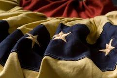 buntingflaggatappning Royaltyfri Foto