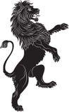 Buntownika lew - heraldyczny symbol Obrazy Stock