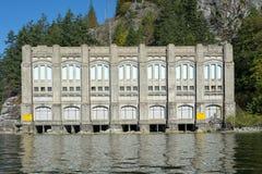 Buntzen sjökraftverk 2 Arkivfoton