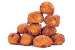 Bunuelos de viento, typical pastries of Spain, eaten in Lent Royalty Free Stock Photography