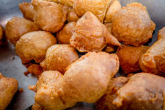 Bunuelos, traditional ecuadorian desserts Royalty Free Stock Photo