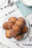 Bunyols de Quaresma, Catalan pastries eaten in Lent Royalty Free Stock Images