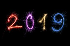 Buon anno 2019 illustrazione di stock