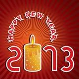 Buon anno 2013 Fotografia Stock Libera da Diritti