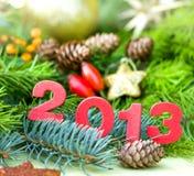 Buon anno 2013 Fotografie Stock Libere da Diritti
