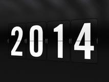 Buon anno 2014 Fotografia Stock Libera da Diritti