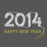 Buon anno 2014 Immagini Stock