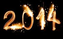 Buon anno 2014 Fotografie Stock