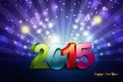 Buon anno 2015 Immagine Stock