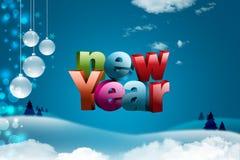 Buon anno 2015 Fotografia Stock