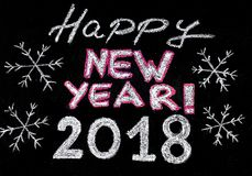 Buon anno 2018 Fotografie Stock